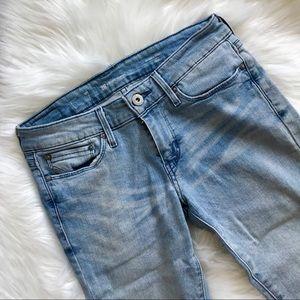💙 LEVI'S Slight Curve Light Wash Skinny Jeans 💙